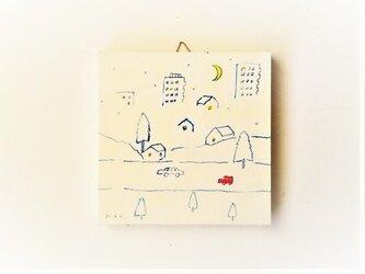 「三日月の夜に」 ※ミニアートパネルの画像