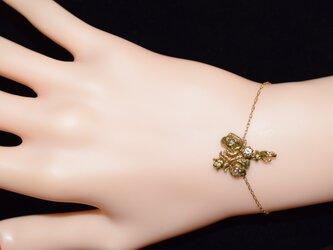 バラの花束ブレスレットの画像