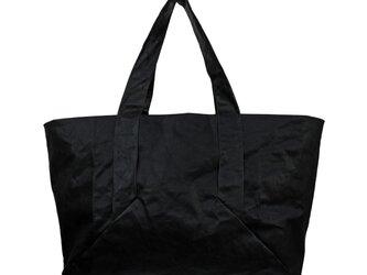 トートバッグ <ブラック> XLサイズの画像