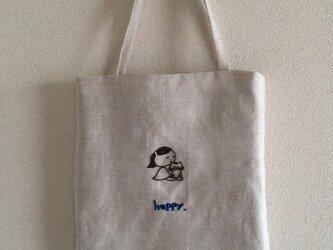 おさんぽバッグ  ニャンコにchuの画像