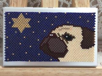 カードケース(星に願いを-パグ⑤)の画像
