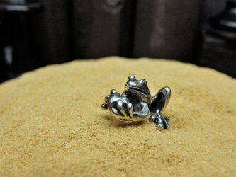 ハート蛙の画像