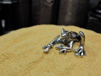 筆蛙の画像