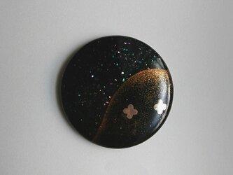 蒔絵姫鏡『麓-夜光貝』の画像