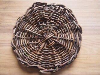 アケビの鍋敷き_1701の画像