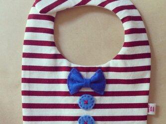 リボンとボタンのスタイ(ストロベリーハワイ)の画像