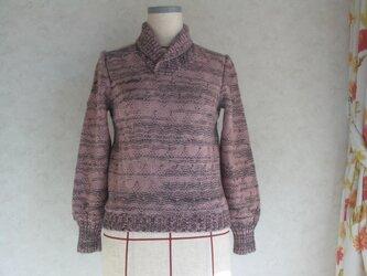 ヘチマの衿セーターの画像