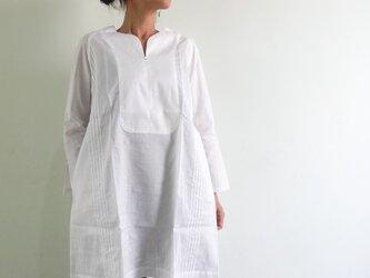 ホワイトシャツ/プレオーガニックコットン/ラグランスリーブの画像