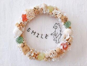 食いしんぼうこぐまグミキャンディ SMILE リースの画像