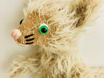 シャトン・トフィー 子猫のぬいぐるみ クリスマスギフト ねこ X'masの画像