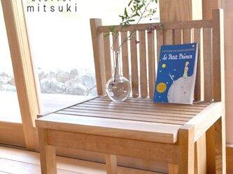 【送料無料】【受注製作】イス(大人用) 2脚セット 格子組 椅子 koushi-kumi chair 楢(オーク) 0025の画像