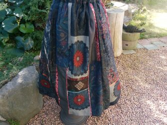 華やかなスカート   ♡ つむぎ様 専用 * 予約済み 一点品の画像