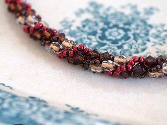 ジュエリークロッシェの羽織紐◎BRL002【送料無料】の画像