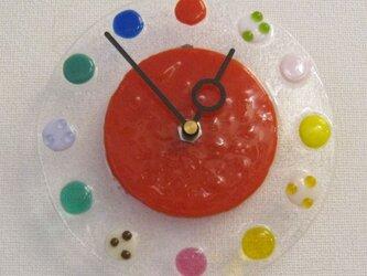 おしゃれで可愛いインテリアにもなるアートな時計T29の画像