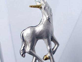 Unicornペンダントブローチの画像
