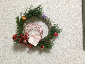 お正月飾りaの画像
