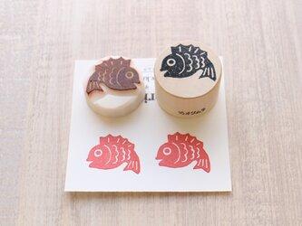 【Kaorimura】【消しゴムはんこ】 【hannko30074】【3センチ】【鯛】の画像