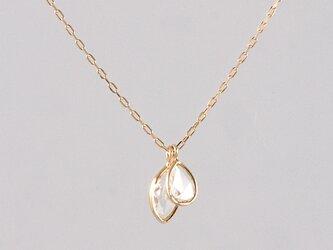 K18 Grow Diamond Necklaceの画像