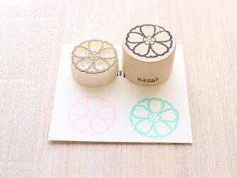 【Kaorimura】【消しゴムはんこ】 【hannko30045】【3センチ】【桜】の画像