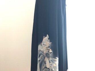 留袖ワンピースの画像