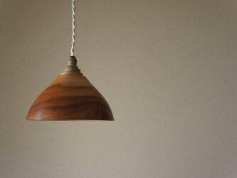 栃 ランプシェードの画像