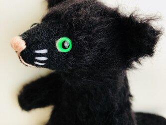 シャトン・トリュフ 子猫のぬいぐるみ ギフト X'mas ねこ クロネコの画像