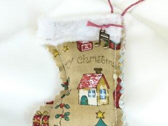 クリスマスブーツ・サシェの画像
