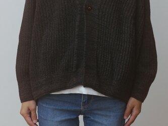 【NEW】CA knit さゆ  wool90 cotton10の画像