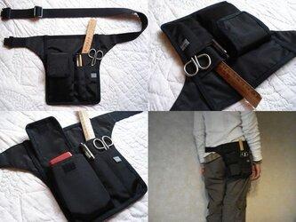 【c】手ぶらで身軽スマート携帯/服を選ばない大人カッコいい メンズライクな立ち仕事の相棒Bag【選べる8タイプ】プレゼントにも♩の画像