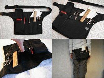 スマート携帯【b】ポケットなしコーデに最適!服を選ばないシンプルデザイン/メンズライクな立ち仕事用バッグ《8タイプ》ギフトにも♩の画像