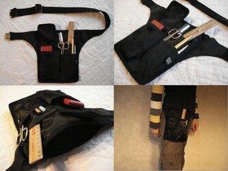スマート携帯【C】ポケットなしコーデに最適!服を選ばないシンプルデザイン/メンズライクな立ち仕事用バッグ《8タイプ》ギフトにも♩の画像