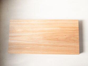 バッコヤナギのまな板 No37 (330×675 h45)の画像