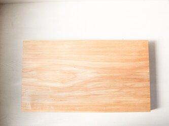バッコヤナギのまな板 No38 (380×670 h45)の画像