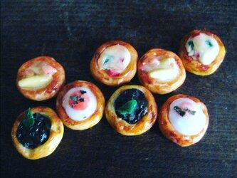 ミニチュア4種類のパイセットの画像