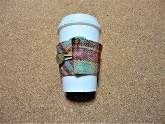 ネル生地のカップスリーブの画像