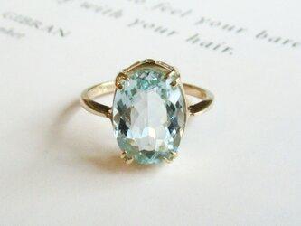 K14 アクアマリン ringの画像