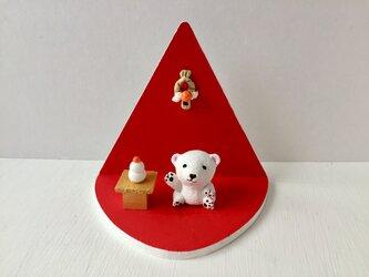 シロクマさんのお正月&クリスマスセットの画像
