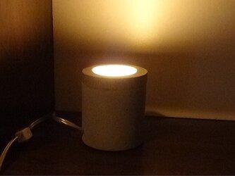 コンクリート常夜灯 インテリアライトの画像