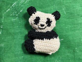 どうぶつブローチ - パンダの画像