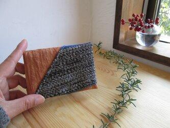 柿渋カードケースの画像
