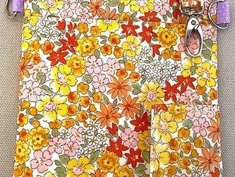 ポケットオーガナイザー リバティブラウン[看護・介護・保育]の画像