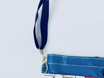 ポケットオーガナイザー 専用ストラップネイビー 長さ調節可能[看護・介護・保育]の画像