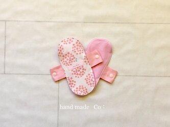 ネル ライナー * flower pink/1枚の画像