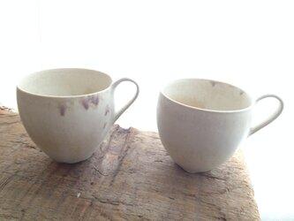 monet mug cup(紫)の画像