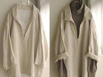 【型紙】スキッパー 衿2種プルオーバーの画像