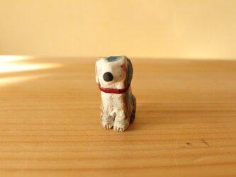 干支の陶犬。の画像