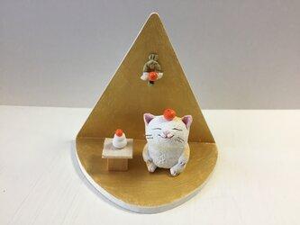 鏡餅猫さんお正月セットの画像