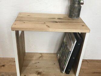 low shelf  mini 44 book rack キャスター付きの画像