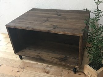 low shelf MINI :DB /Table/ W62 D44.5/キャスター付きの画像