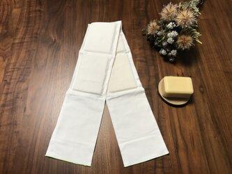 浴用・美肌スポンジ手ぬぐい〈綿100%生成り手ぬぐい使用〉の画像